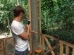 Dom feeding the monkeys